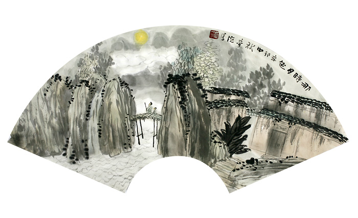 秋凉·闲来画扇 - 小林 - 数码生存